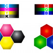 RGB and CMYK — Stock Photo #10106481