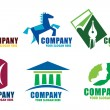 Corporate logos — Stock Photo #10107211