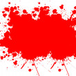 Blood splats — Stock Photo #10107524