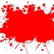 Blood splats — Stock Photo