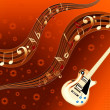 Guitar background — Stock Photo #10107831