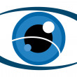 Royalty-Free Stock Photo: Eyes logo