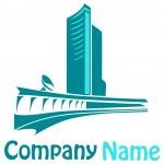 Building logo — Stock Photo