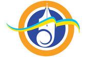 Pen logo — Stock Photo