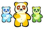 Bears shape — Stock Photo
