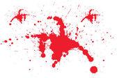 Blod felsymboler — Stockfoto