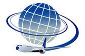 Travel logo — Stock Photo