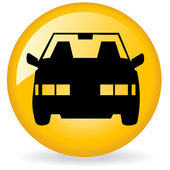 Taxi logo — Stock Photo