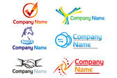 Corporate logo — Stock Photo