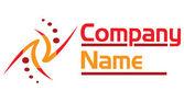 Elegante logotipo — Fotografia Stock