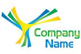 Fan logo — Stock Photo