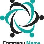 Couples logo — Stock Vector #10199668