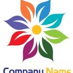 Blume-logo — Stockvektor