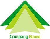 Dreieck-logo — Stockvektor