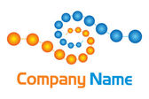 Boules logo — Stock Vector