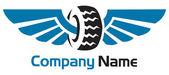 Tyre logo — Stock Vector