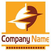 Power logo — Stock Vector