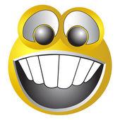 Smiley face — Stock Vector