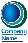 Round logo — Stock Vector