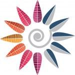logotipo da flor — Vetorial Stock