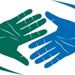 Hand shake — Stock Vector