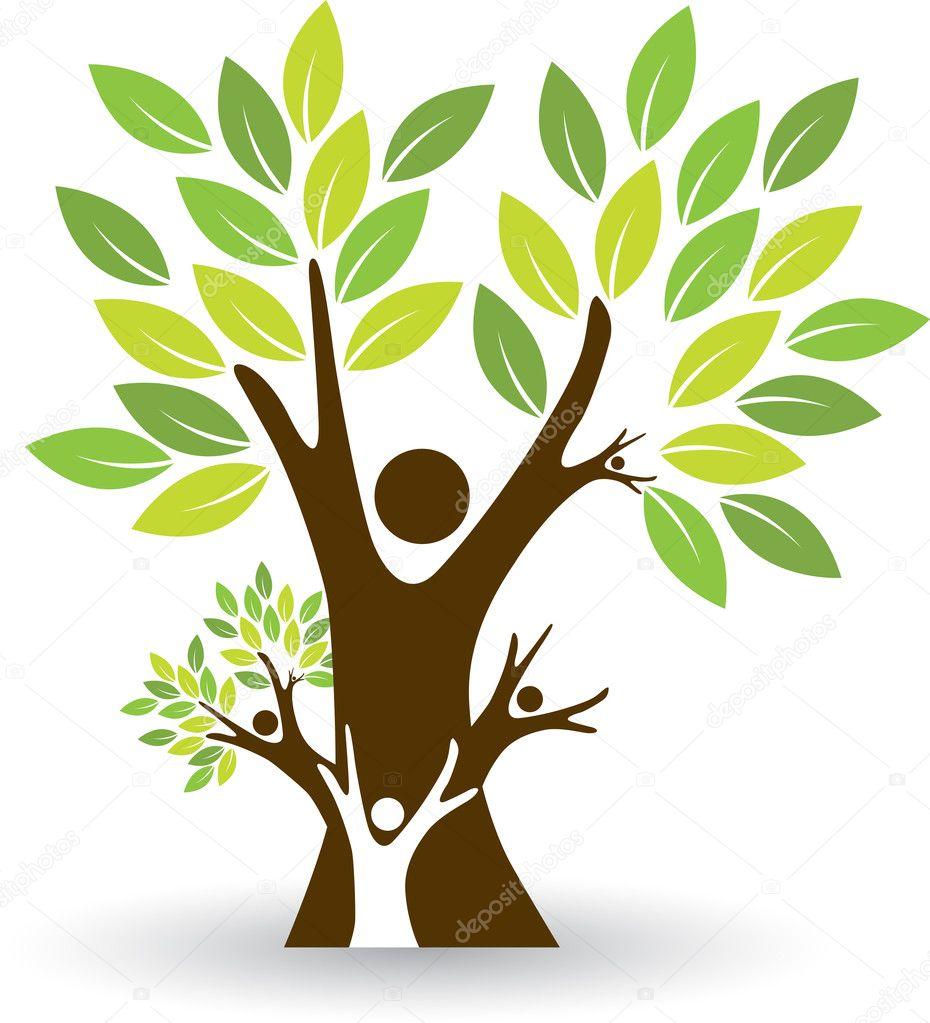 家族树 — 图库矢量图像08