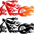 Royalty-Free Stock Vector Image: Speed bike