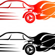 Royalty-Free Stock Vector Image: Speed car