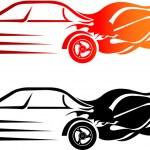 Speed car — Stock Vector
