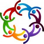 Couples logo — Stock Vector #9744662