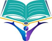 Education logo — Stockvektor
