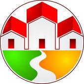 Home logo — Stock Vector