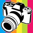 Camera logo - Stock Vector
