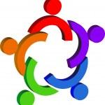 Couples logo — Stock Vector #9856687