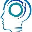 BRAIN GEARS — Stock Vector
