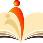 Book reader — Stock Vector
