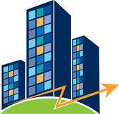 Building symbol — Stock Vector