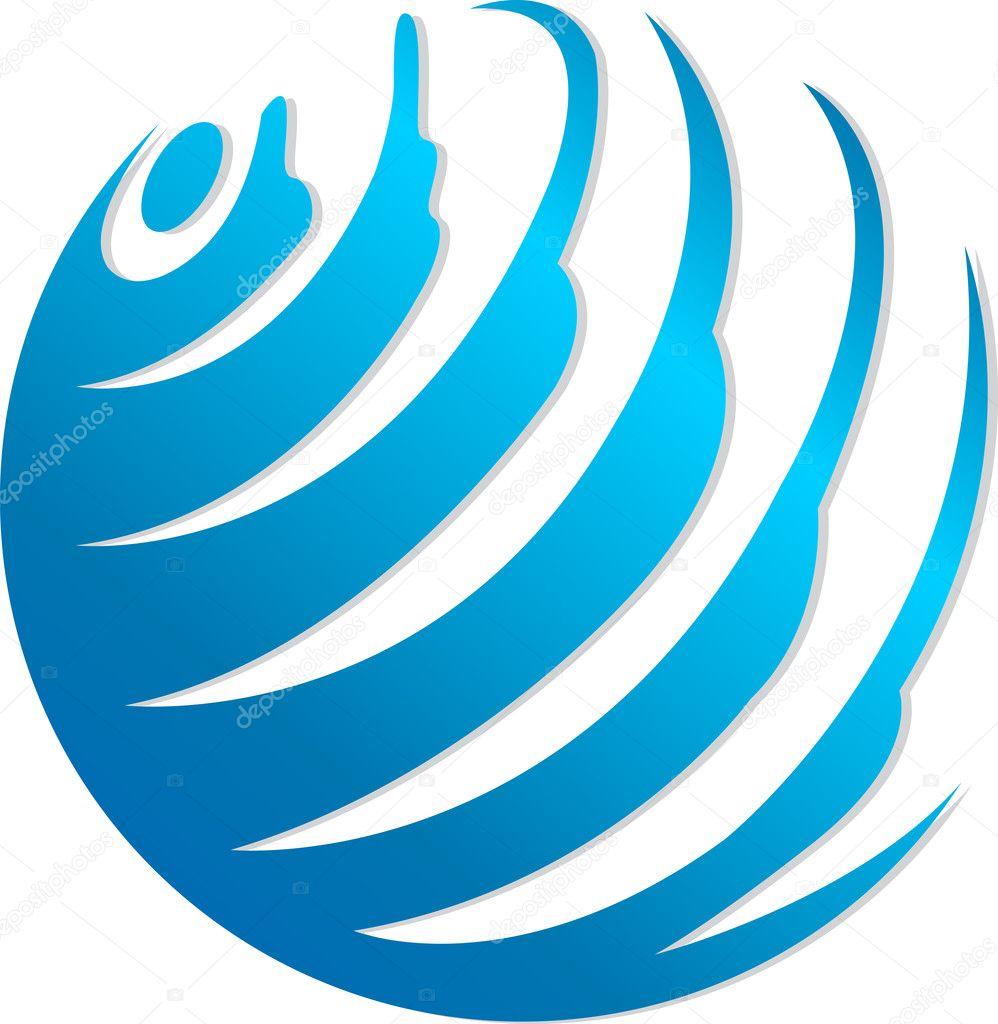 Image Gallery Globe Logo