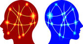 Brain focus — Stock Vector