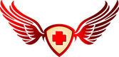Emergency medicine — Stock Vector