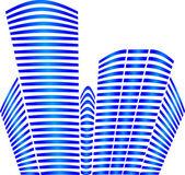 Building shape — Stock Vector