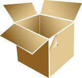Parcel box — Stock Vector