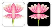 Lotus logo — Stock Photo