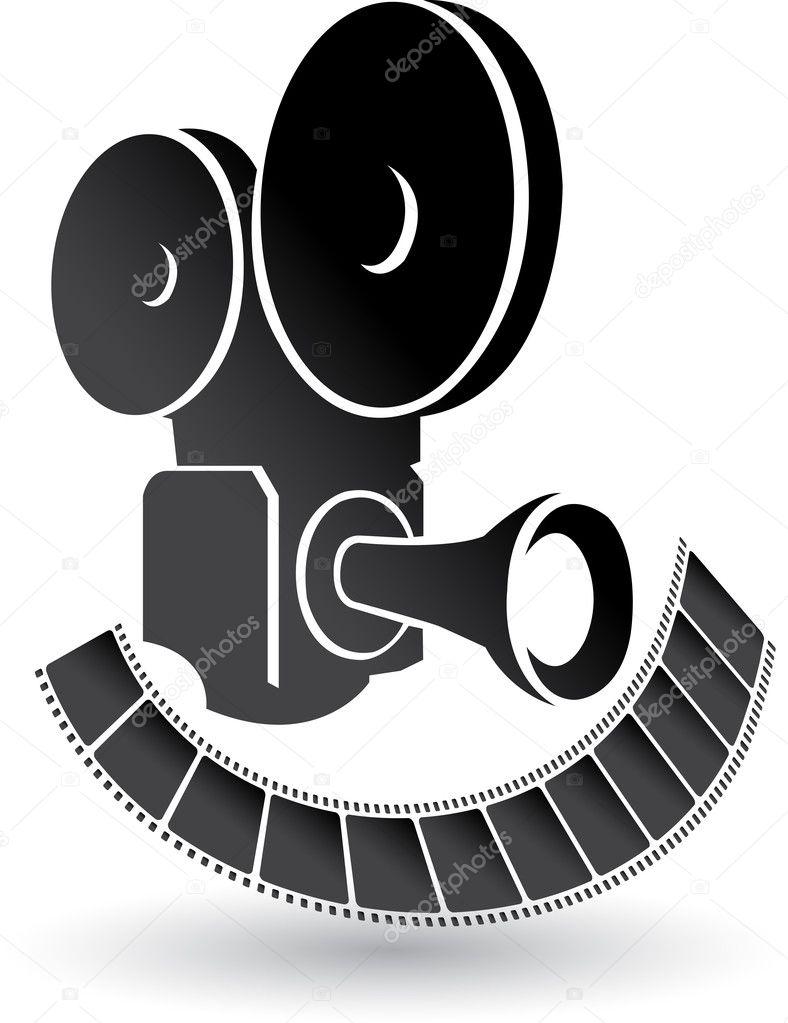 Camera and film logo stock vector magagraphics 9878369 for Camera film logo