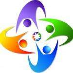 Couples logo — Stock Vector #9880444