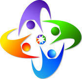 Couples logo — Stock vektor