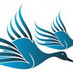 Love birds — Stock Vector #9941258
