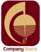Corporate logo — Stock Vector