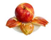 Red apple. — Stock Photo