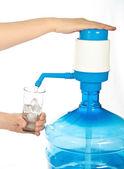 大瓶的清洁饮用水. — 图库照片